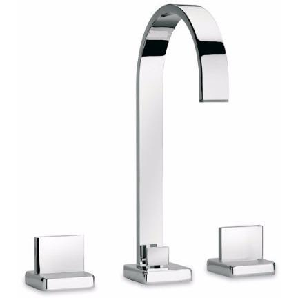 Latoscana Novello Roman Tub With Lever Handles In Chrome touch on bathroom sink faucets Latoscana