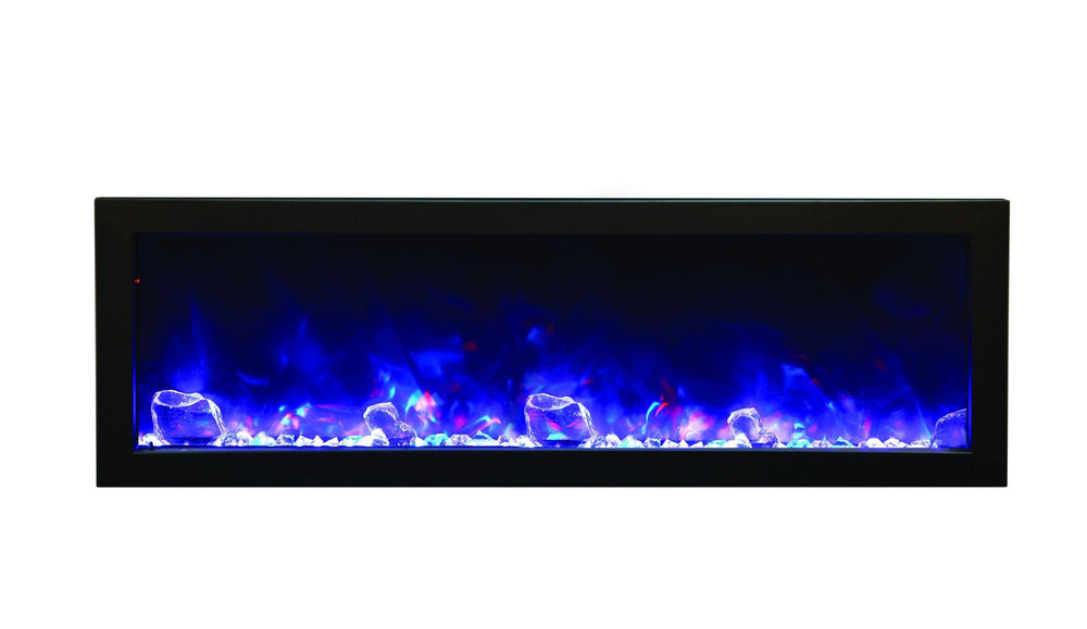 Amantii Steel surround for BI-50-DEEP or BI-50-SLIM Electric Fireplace Amantii