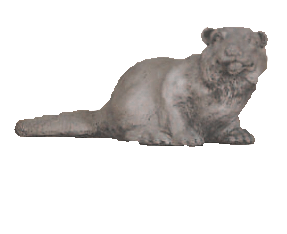 Beaver Cast Stone Outdoor Asian Collection Statues Tuscan