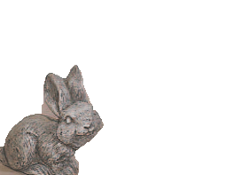 Baby Fox Up and Down Cast Stone Outdoor Asian Collections Statues Tuscan