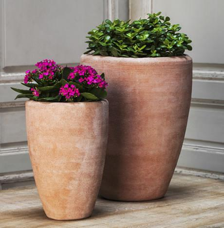 Campania International Terra cotta Abrielle Planter Urn/Planter Campania International