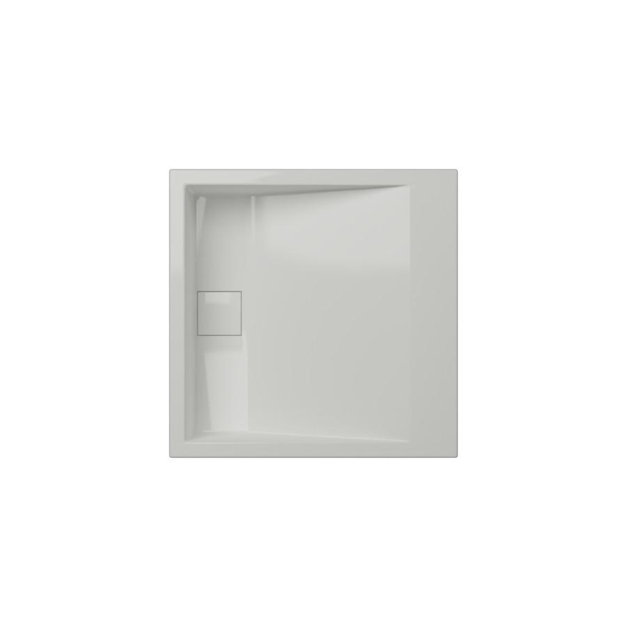 Cantrio Solid Surface Modern Top Mount Bathroom Sink MMA-18184 Solid Surface Series Cantrio