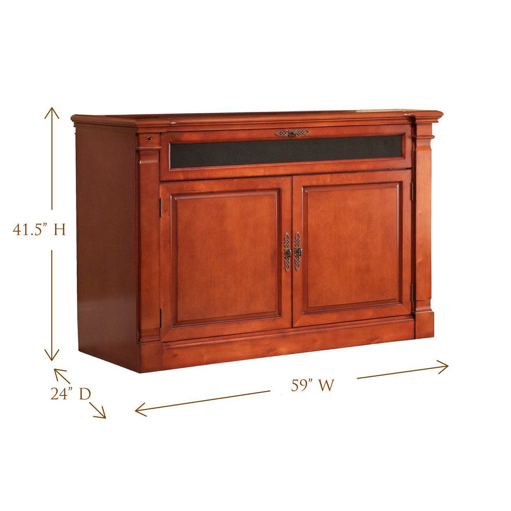 "Touchstone Adonzo Full Size Tv Lift Cabinets For Up To 60"" Flat Screen Tv'S Tv Lift Cabinets Touchstone"