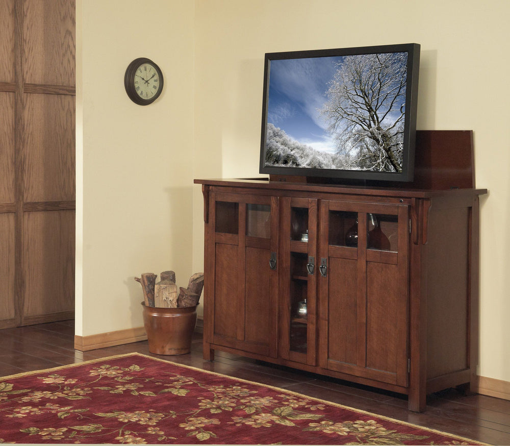 "Touchstone Bungalow Full Size Lift Cabinets For Up To 60"" Flat Screen Tv'S Tv Lift Cabinets Touchstone"