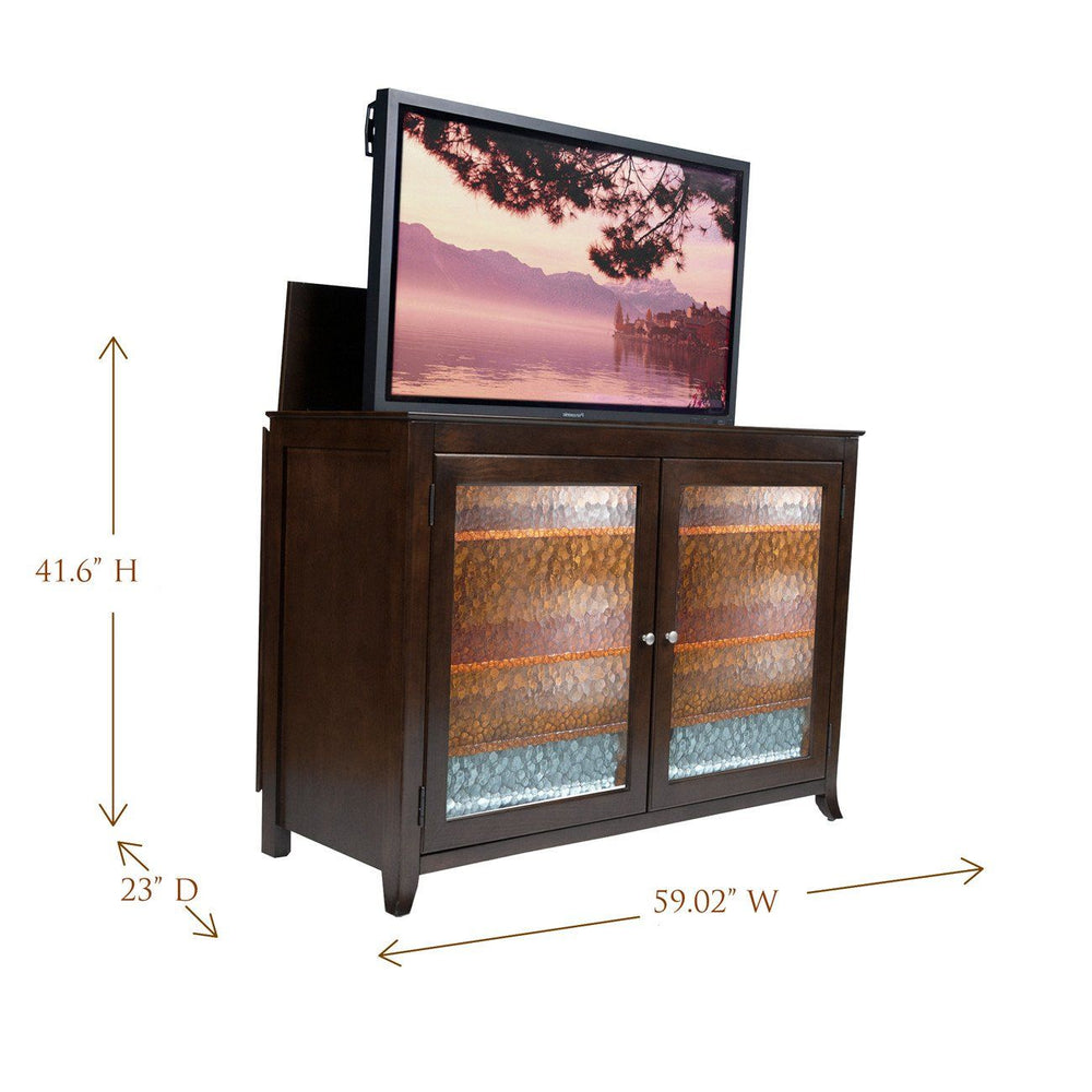 "Touchstone Carmel Full Size Tv Lift Cabinets For Up To 60"" Flat Screen Tv'S Tv Lift Cabinets Touchstone"