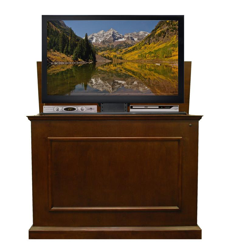 "Touchstone Elevate - Espresso Lift Cabinets For Up To 42"" Flat Screen Tv'S Tv Lift Cabinets Touchstone"