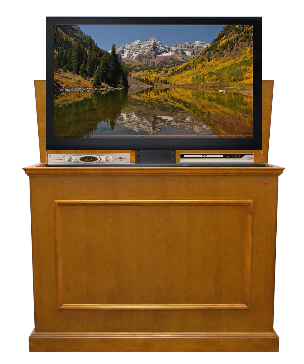 "Touchstone Elevate - Oak Tv Lift Cabinets For Up To 42"" Flat Screen Tv'S Tv Lift Cabinets Touchstone"