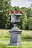 Campania International Cast Iron Edenbridge Cast Iron Pedestal Urn