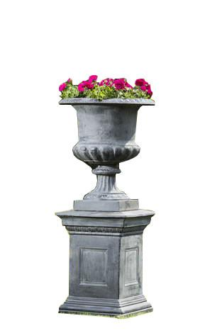 Campania International Cast Iron Edenbridge Cast Iron Pedestal Urn Urn/Planter Campania International