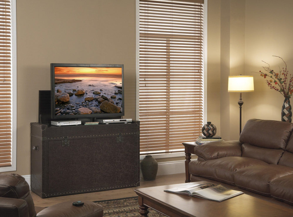 "Touchstone Ellis Trunk Tv Lift Cabinets For Up To 46"" Flat Screen Tv'S Tv Lift Cabinets Touchstone"