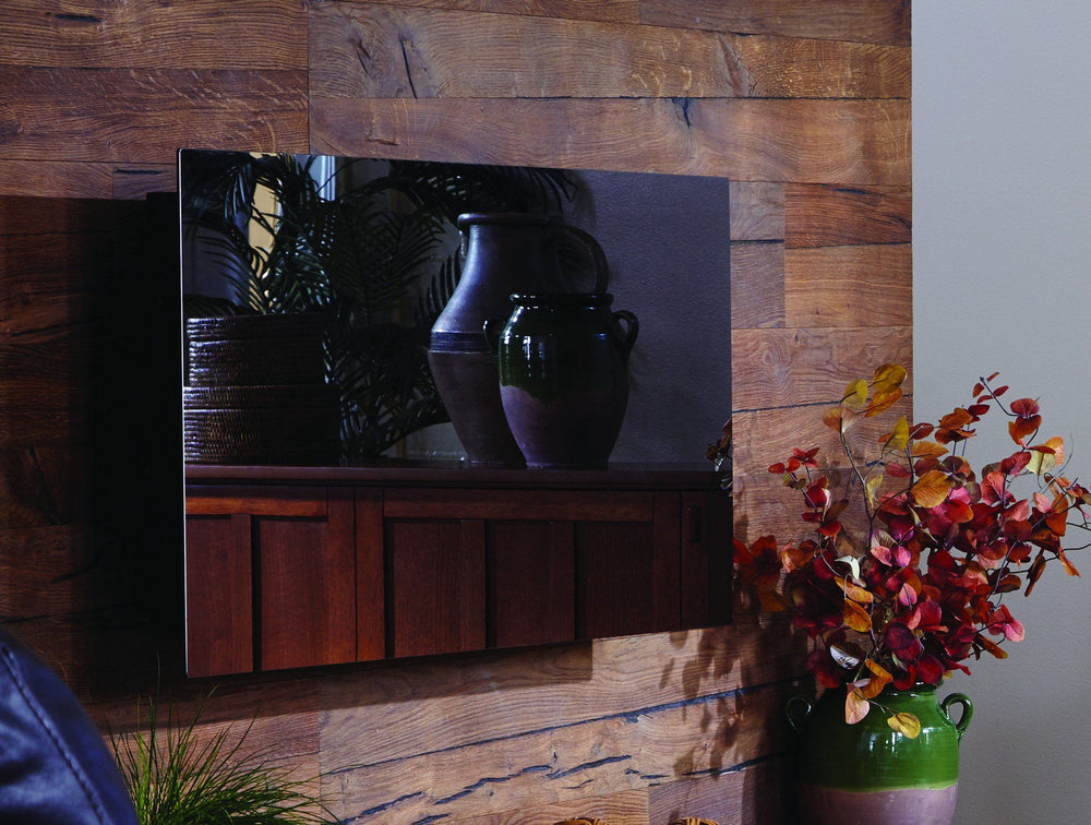 "Touchstone Mirror Onyx 50"" Wall Mounted Electric Fireplace Electric Fireplace Touchstone"