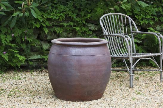 Campania International Terra cotta Mai Planter Urn/Planter Campania International