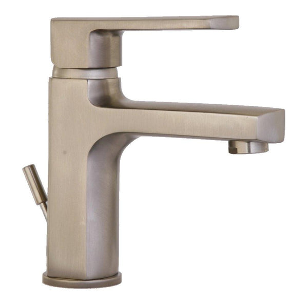 Latoscana Novello Single Lever Handle Lavatory Faucet In Brushed Nickel