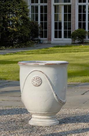 Campania International Glazed Terra cotta Anduze Urn Urn/Planter Campania International