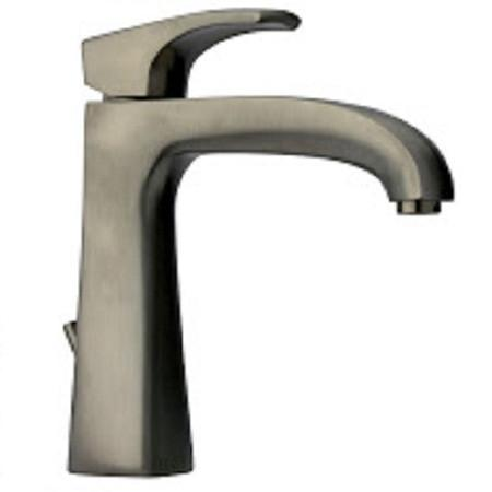 Latoscana Lady Single Handle Lavatory Faucet With Lever Handle In Brushed Nickel