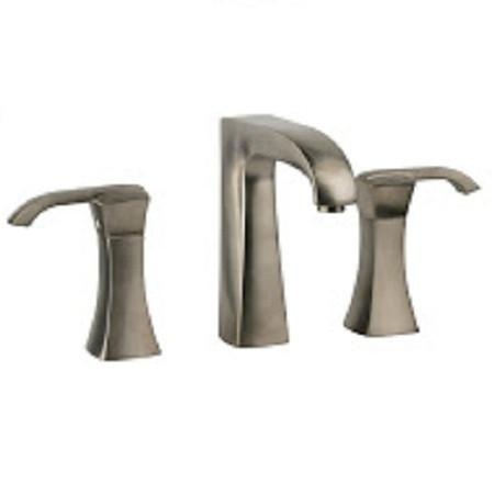Latoscana Lady widespread lavatory faucet with lever handles in Brushed Nickel touch on bathroom sink faucets Latoscana