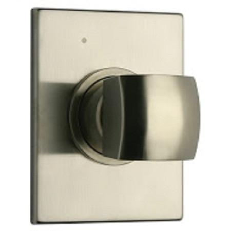 "Latoscana Lady volume control with 3/4"" inlet connections in Brushed Nickel"