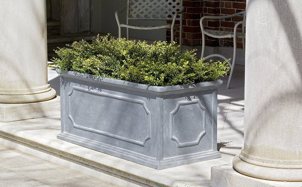 Campania International Fiber Clay Hampshire Lg Wndw Box Urn/Planter Campania International