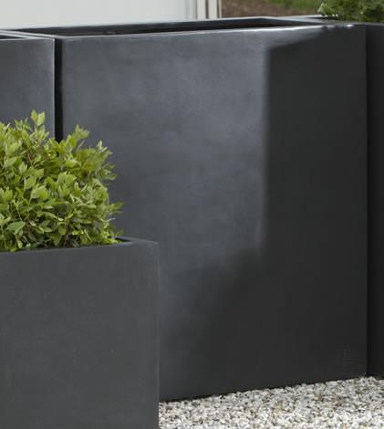 Campania International Fiber Clay Modular Lite Planter 4 Urn/Planter Campania International