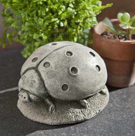 Campania International Cast Stone Ladybug Statuary Campania International