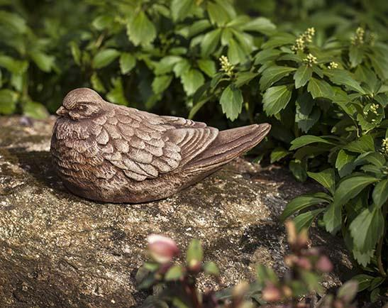 Campania International Cast Stone Dove Statuary Campania International
