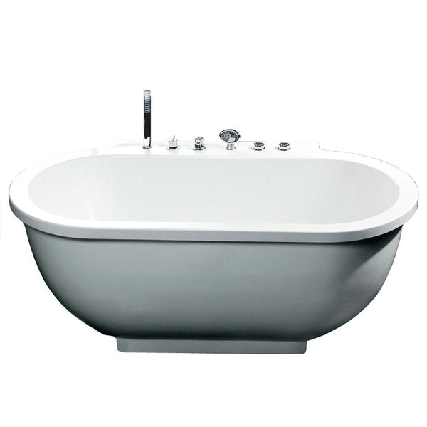 ARIEL Platinum AM128 Whirlpool Bathtub