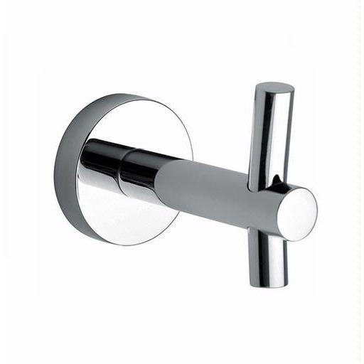 Latoscana Atlanta Robe Hook In A Chrome Finish bath towel hooks Latoscana