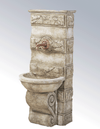 Abelone Wall Cast Stone Outdoor Garden Fountains for spout Fountain Tuscan