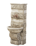 Abelone Wall Cast Stone Outdoor Garden Fountains for spout