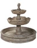 Agrigento Pond  Cast Stone Outdoor Garden Fountain