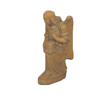 Angel Candle Holder Cast Stone Outdoor Asian Collection Wall Ornament Tuscan