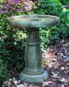 Classic Cast Stone Outdoor Garden Birdbath Large BirdBath Campania International