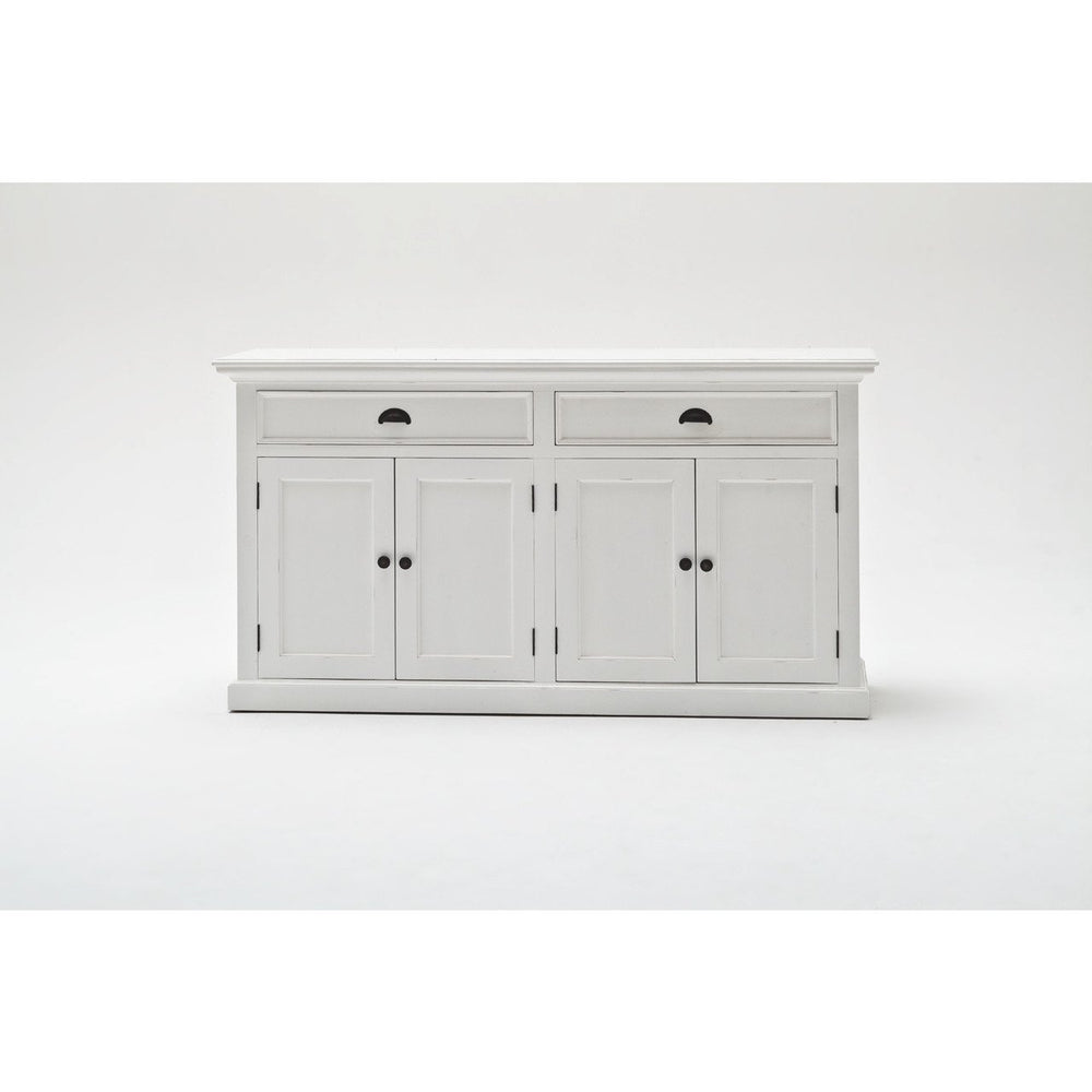NovaSolo Halifax BCA594 Glass-Display Hutch Unit Hutch NovaSolo
