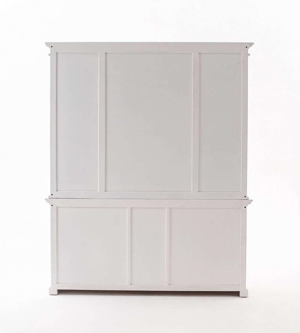 Kitchen Hutch Cabinet with 5 Doors 3 Drawers Buffet NovaSolo