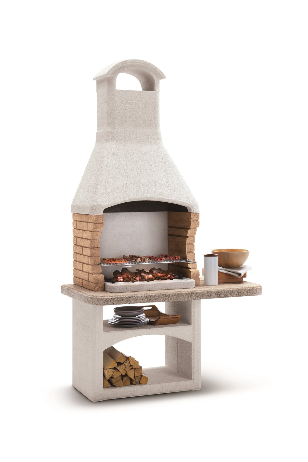 Palazzetti BOAVISTA Barbecue Outdoor Cooking Grill By Paini Pizza Ovens Paini
