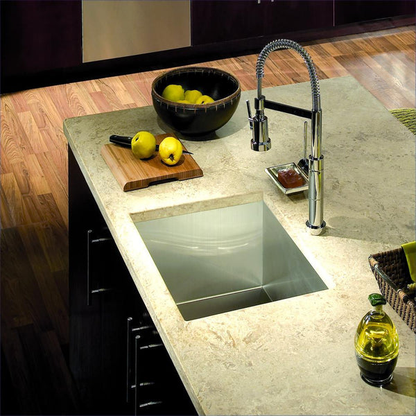 Houzer Cts 2300 Contempo Series Undermount Stainless Steel
