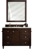 "Copper Cove Encore 48"" Burnished Mahogany Single Sink BathroomVanity by James Martin"