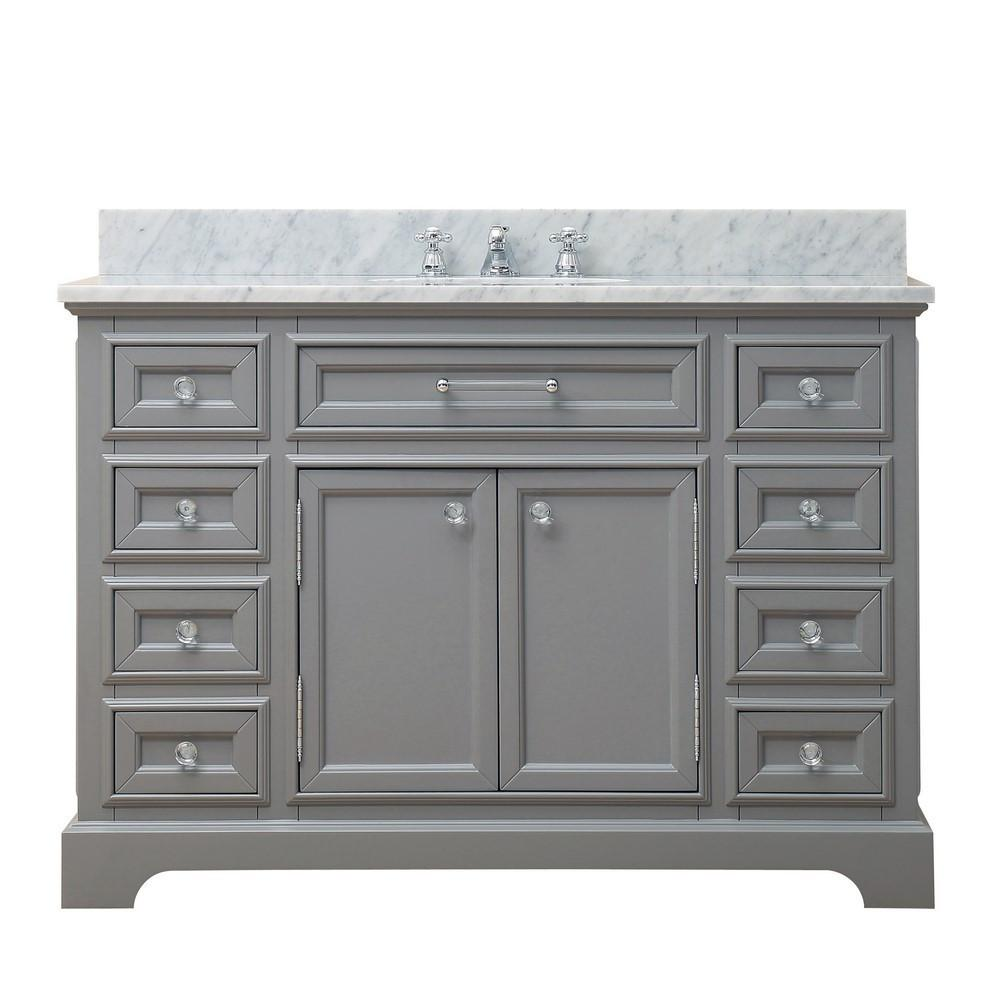"Derby 48"" Cashmere Grey Single Sink Bathroom Vanity Only ..."