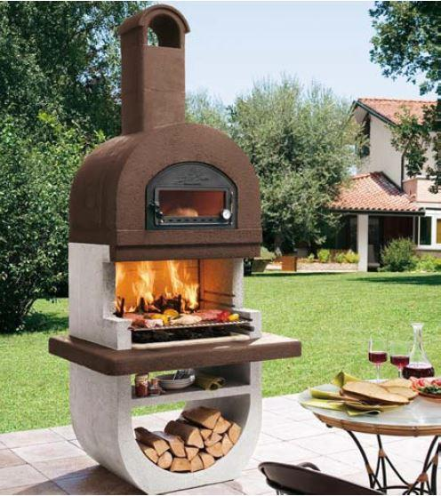 Palazzetti Diva Barbecue Outdoor Cooking Grill By Paini