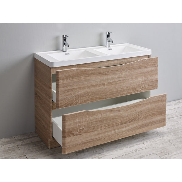 Eviva Smile 174 48 Quot Rosewood Modern Bathroom Vanity Set With