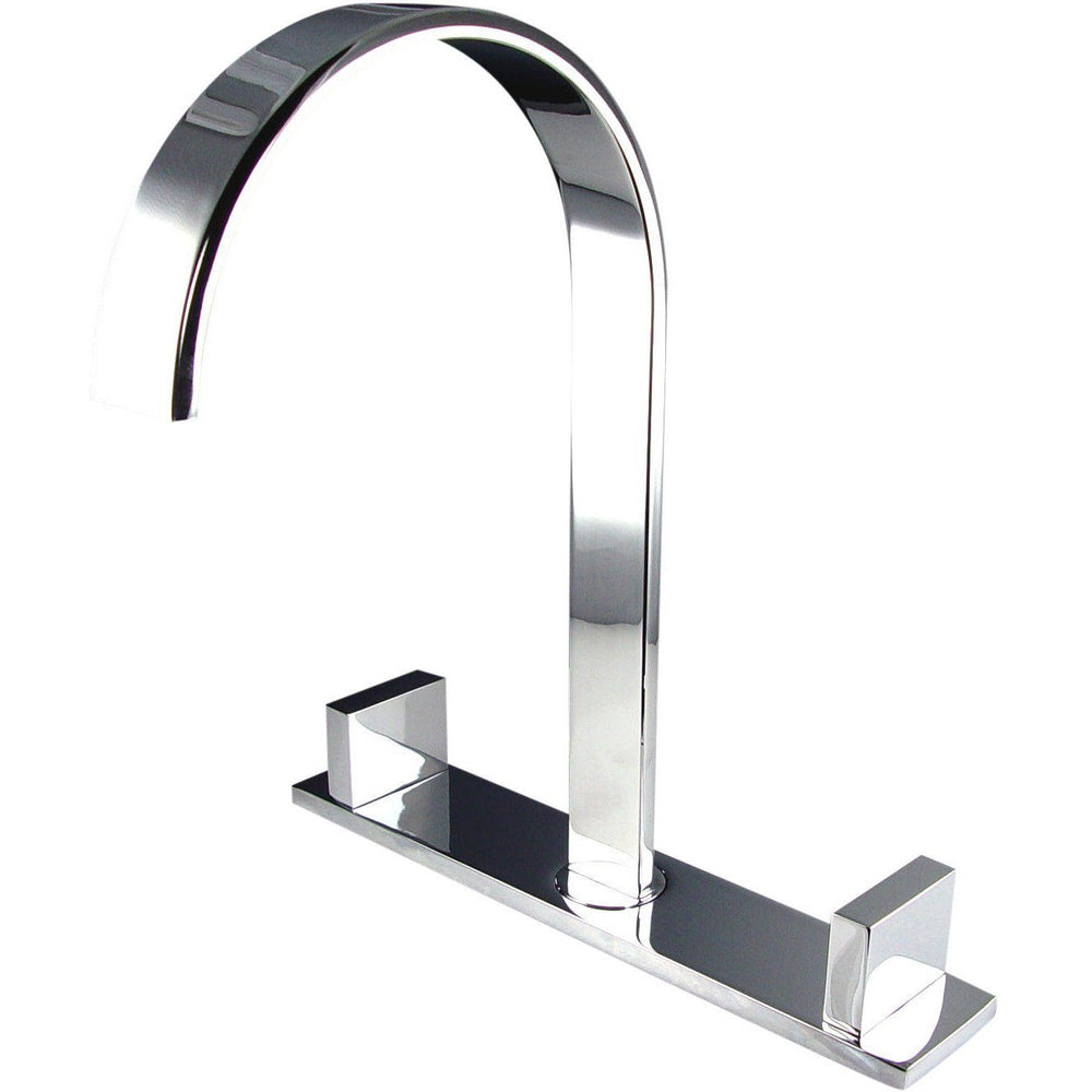 Fresca Sesia Widespread Mount Bathroom Vanity Faucet - Chrome Vanity Faucet Fresca