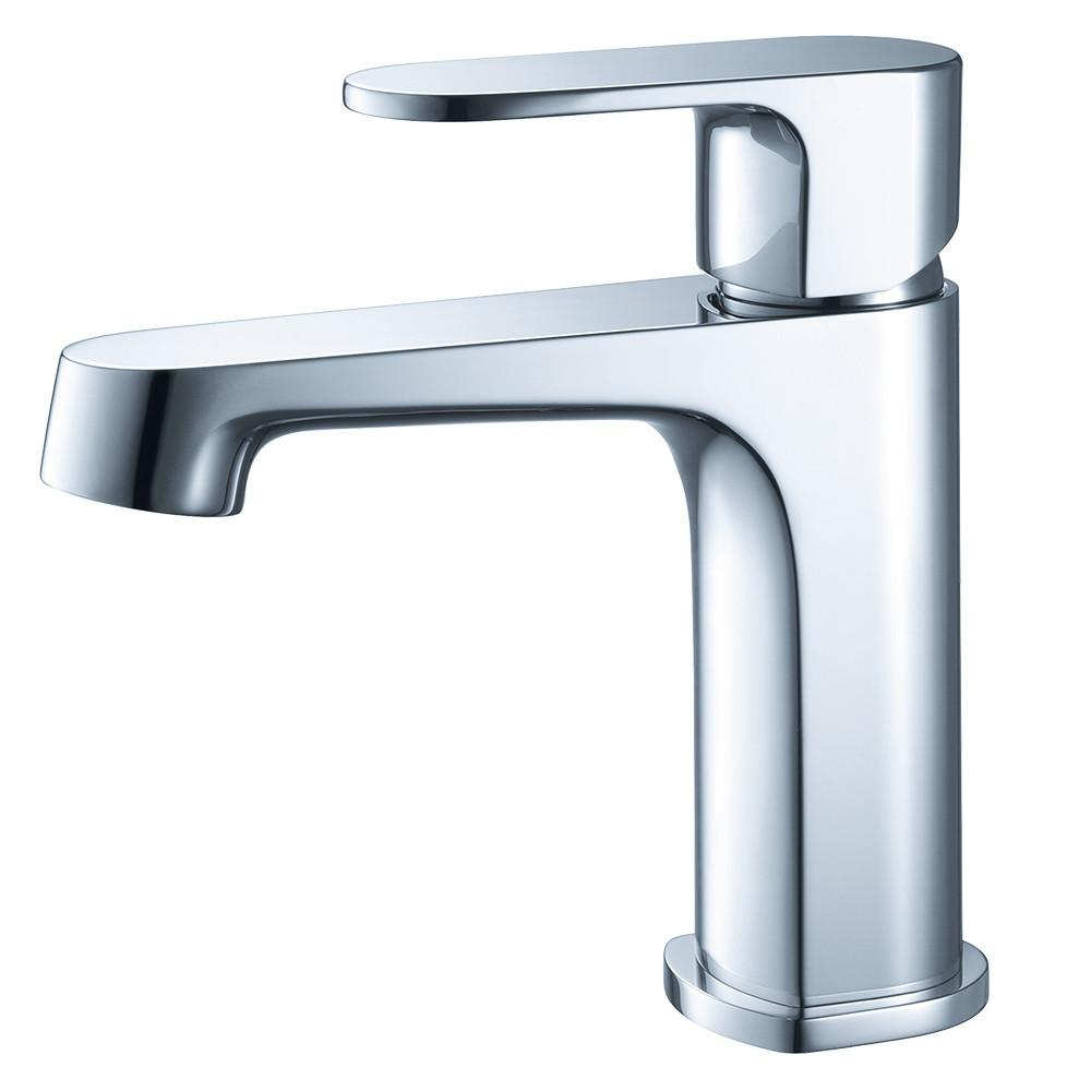 Fresca Gravina Single Hole Mount Bathroom Vanity Faucet - Chrome Vanity Faucet Fresca