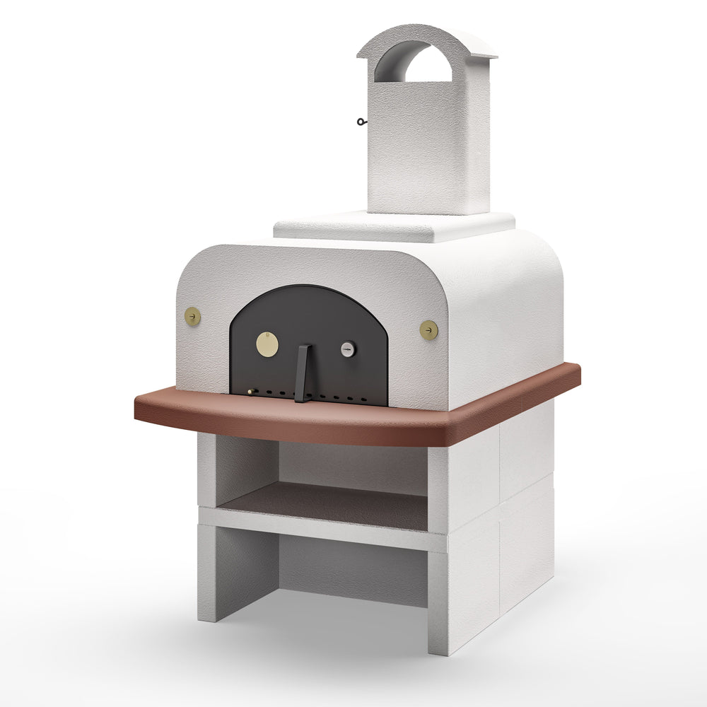 Palazzetti Forno Wood Fired Oven Easy Large Completo Pizza Ovens Paini