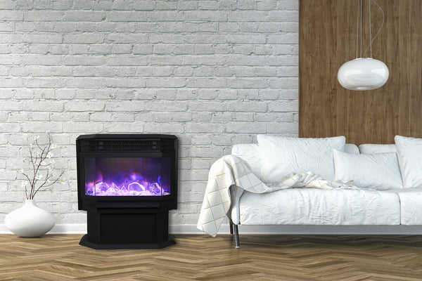 Amantii Free standing electric fireplace