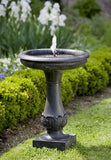 Chatsworth Outdoor Garden Birdbath Fountain