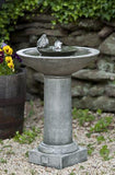 Aya Outdoor Garden Birdbath Water Fountain
