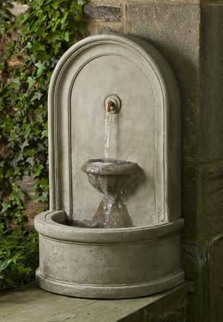 Colonna Outdoor Garden Wall Fountain Fountain Campania International