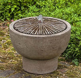 Bamboo Pot Outdoor Garden Water Fountain