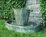 Anfora Cast Stone Outdoor Garden Fountain