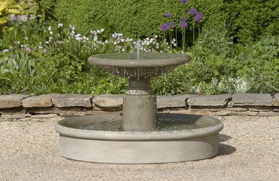 Esplanade Outdoor Stone Garden Fountain Fountain Campania International